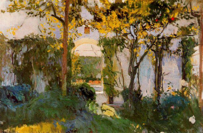 Jardín del Alcázar
