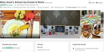 Marry Anne's Artisan Ice Cream & Resto