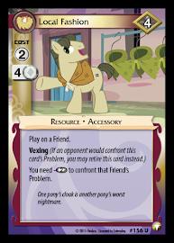 My Little Pony Local Fashion Equestrian Odysseys CCG Card