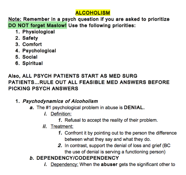 Nclex rn pn notes download here malvernweather Choice Image