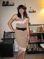 Pocahontas Dress Tutorial from Phile Not Found