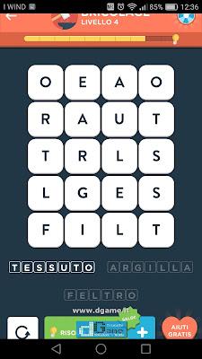 WordBrain 2 soluzioni: Categoria Bricolage (4X5) Livello 4