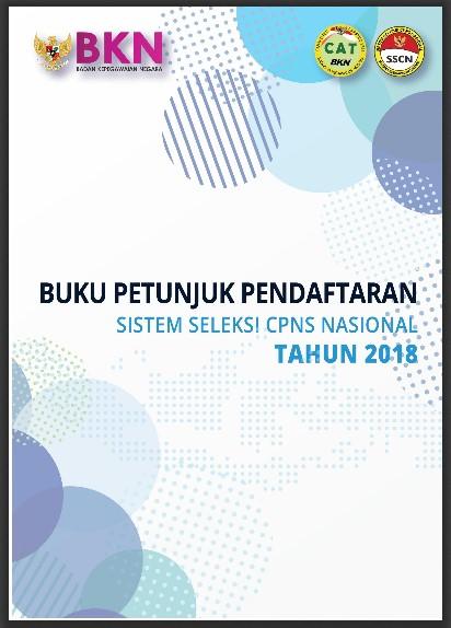 Buku petunjuk pendaftaran sistem seleksi cpns tahun