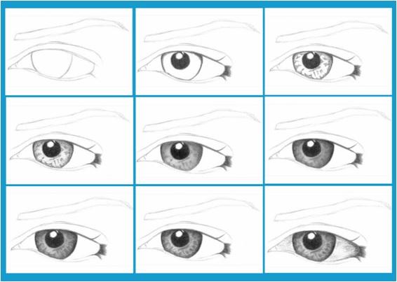 profesyonel göz resmi nasıl çizilir