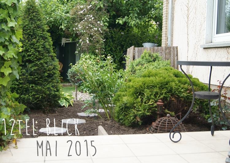 Terrassenbeet für den 12tel Blick im Mai {by it's me! }