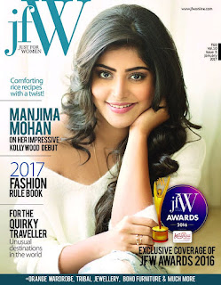Manjima Mohan Picture Shoot Gallery For JFW Magazine
