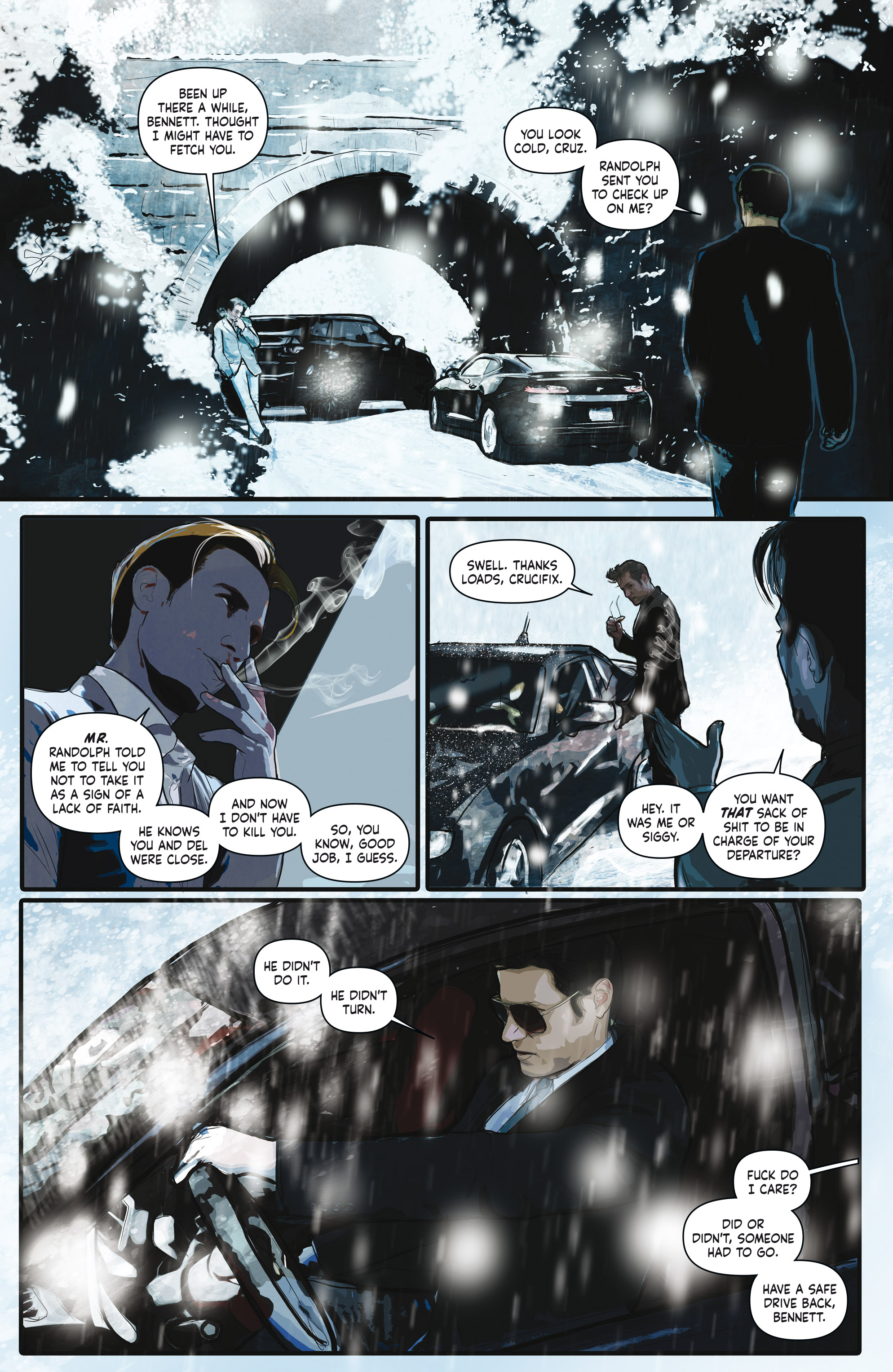Read online Crosswind comic -  Issue #1 - 7