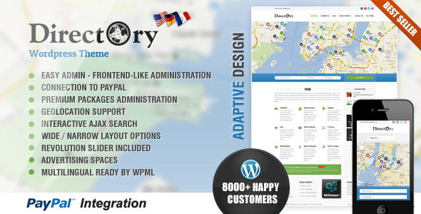 Directory Portal V4.18 Wordpress Themes Nulled - Themes Arena