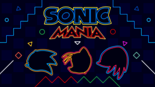 Sonic Mania PS4 Wallpaper