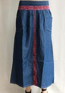 Rok Jeans Kombunasi RM374