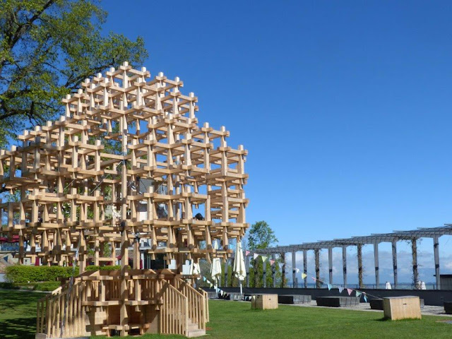 Schweiz Bern Urlaub mit Hund Gurten Weltenbaum Yggdrasil