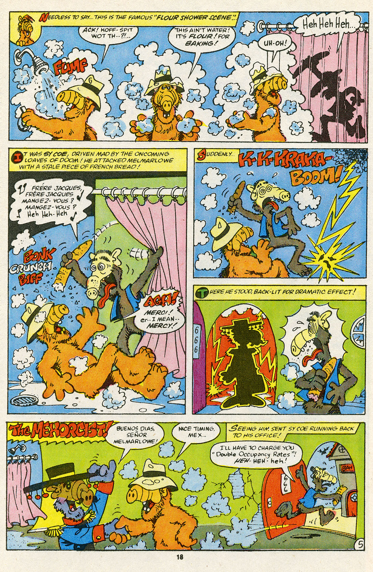 Read online ALF comic -  Issue #14 - 20