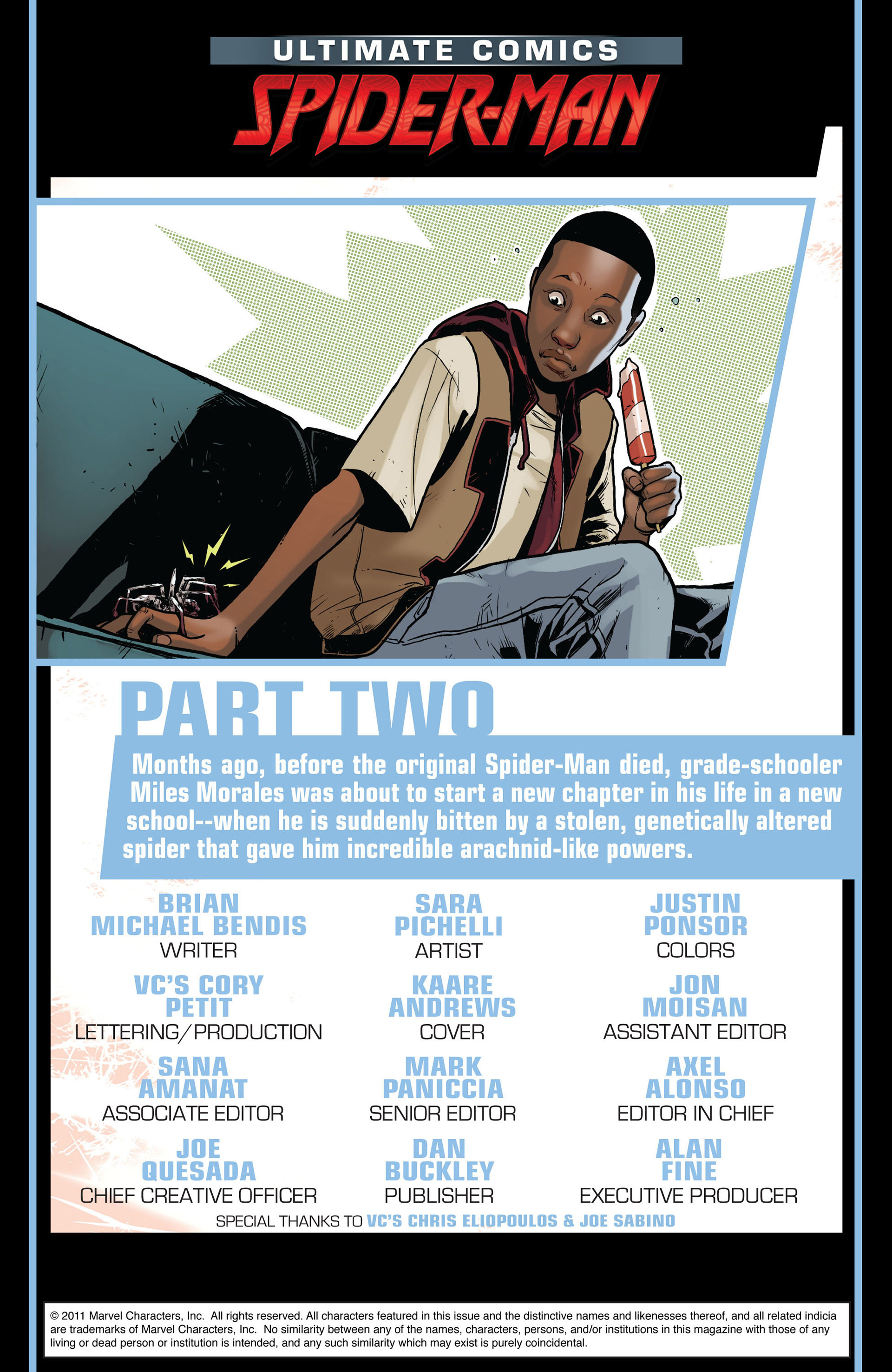 Read online Ultimate Comics Spider-Man (2011) comic -  Issue #2 - 2