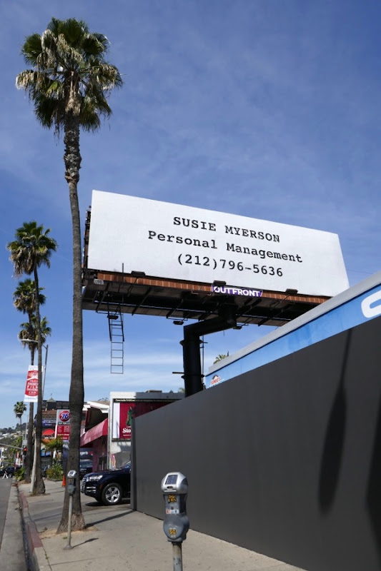 Susie Myerson Mrs Maisel Emmy FYC billboard Sunset Boulevard
