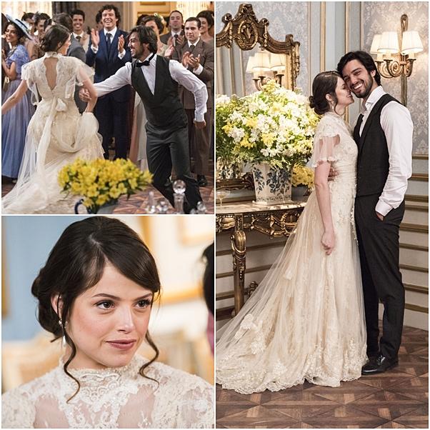 vestido de noiva ema Agatha Moreira orgulho e paixão