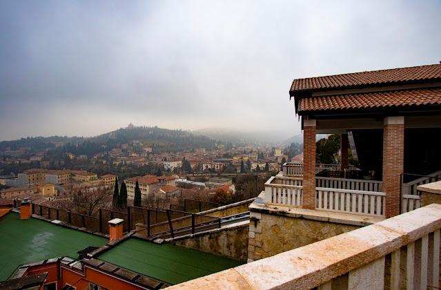 Panorama da Castel San Pietro-Verona