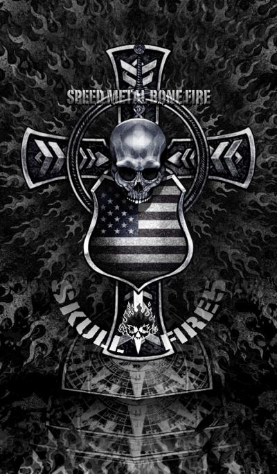 Speed Metal Bone Fire Skull Fire 5