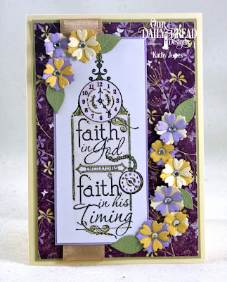 Our Daily Bread Designs Stamp: His Timing, Our Daily Bread Designs Custom Dies: Leaves and Branches, Bitty Blossoms, Our Daily Bread Designs Paper Collection: Whimsical Wildflowers