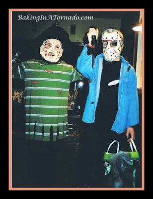 Freddy and Jason costumes for Halloween | www.BakingInATornado.com |  #Halloween