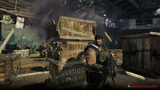 Gears of War 1 Gameplay Screenshot 3