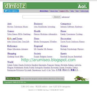 Cara daftaqrkan blog ke DMOZ