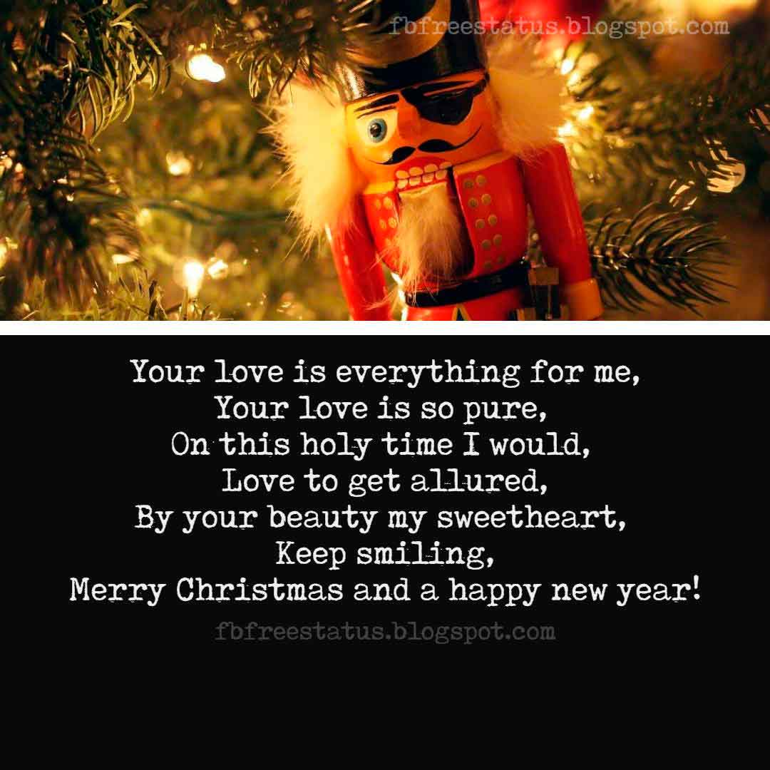 Best Merry Christmas Love Quotes