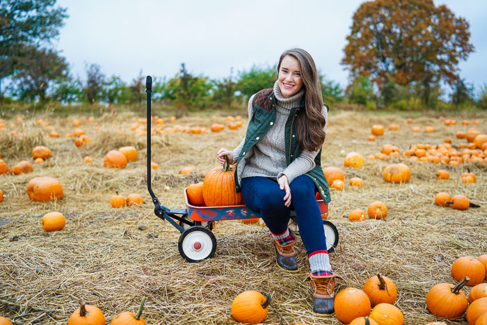 Krista Robertson, Covering the Bases,Travel Blog, NYC Blog, Preppy Blog, Style, Fashion Blog, Travel, Fall Outfits, Fall Style, What to Wear for the Fall, Pumpkin Picking, New England Fall