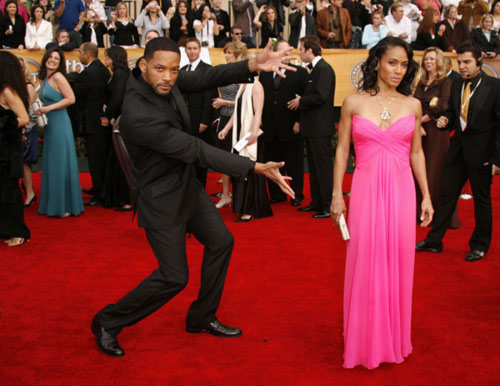 will smith knows how to introduce a lady