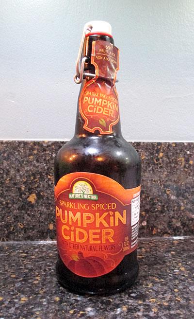 Nature's Nectar Pumpkin Cider