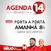 Hélio convida você para participar do porta a porta em Serra do Vento, na manhã desta quarta-feira (21)