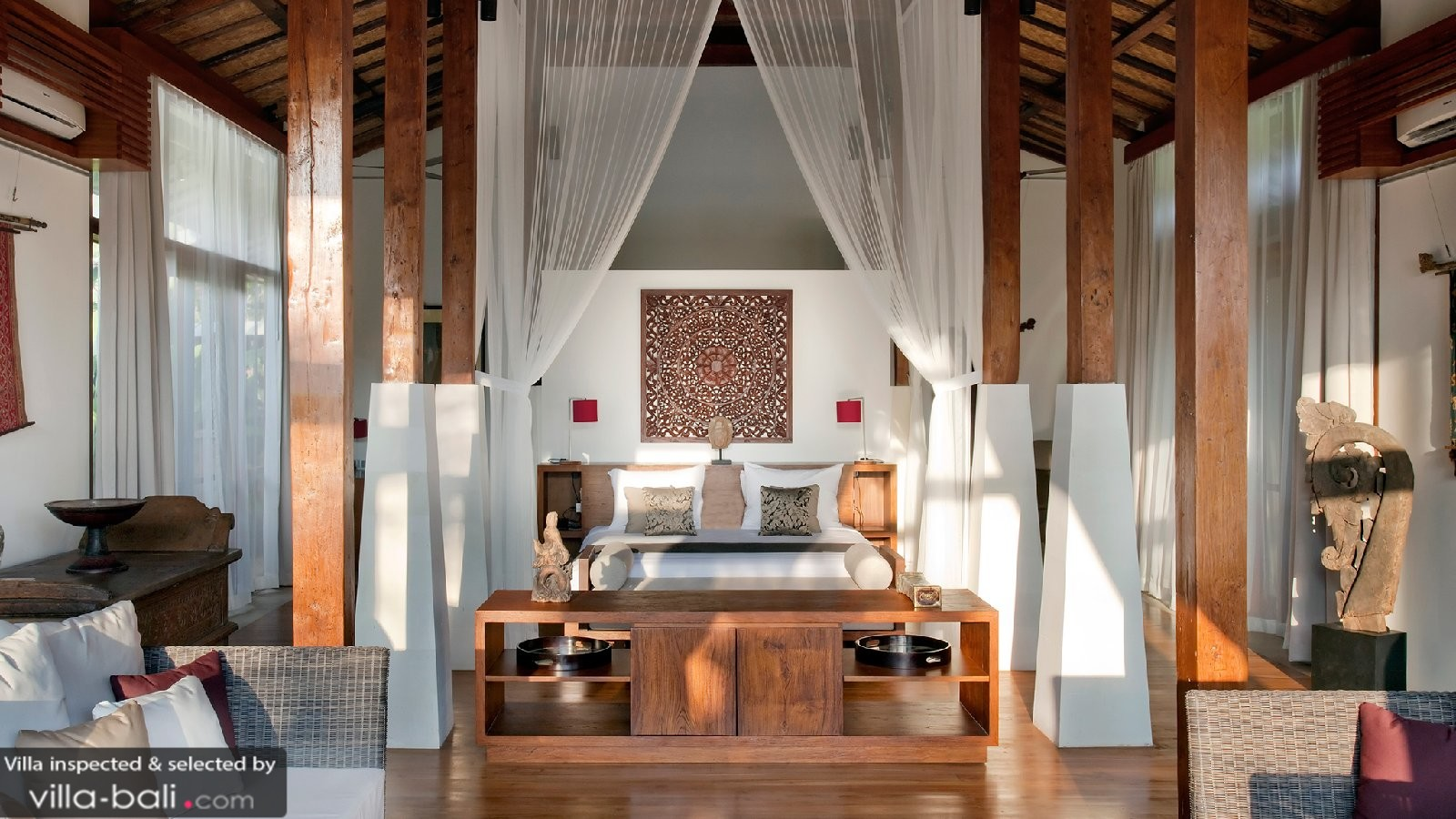 Luxury Bali Villa Bedroom