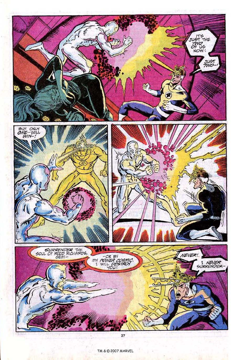 Read online Silver Surfer (1987) comic -  Issue #16 - 29