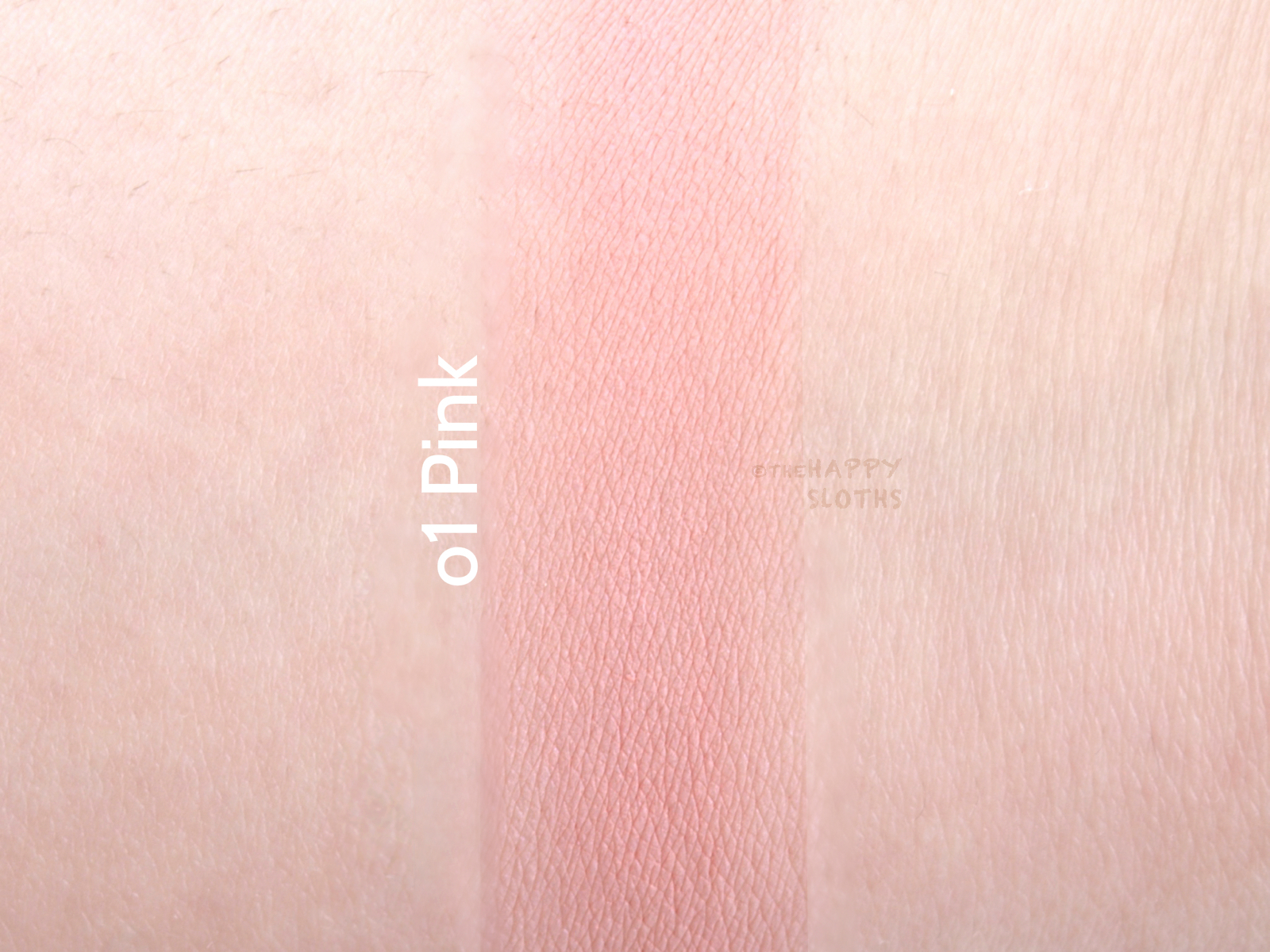 "THEFACESHOP Hydro Cushion Blush in ""01 Pink"": Review and Swatches"