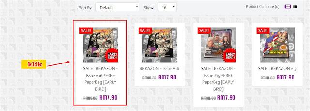 Berkarya di Majalah Bekazon dan Cara Pembelian Online