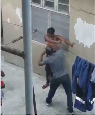 Male Teacher Seen Flogging And Slapping A Female Student With His Full Strength