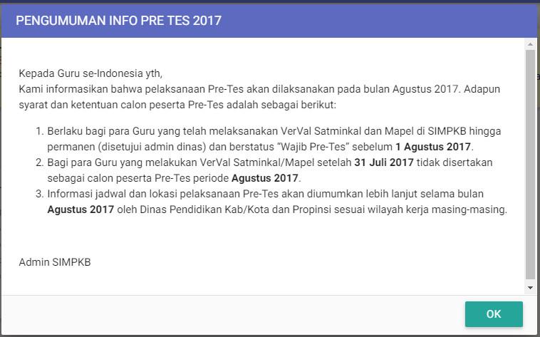 Sd Negeri 1 Asemrudung Soal Pretest Pkb Guru Pjok Sd Tahun 2017