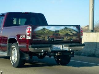 Camionetas con aerografo.