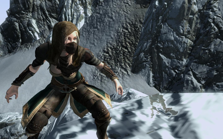 Zelda in Skyrim: Sheik