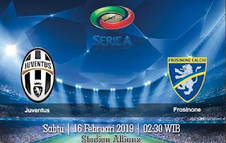 Prediksi Juventus vs Frosinone 16 Februari 2019