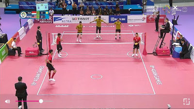 Live Streaming Sepak Takraw Malaysia vs Indonesia Final Asian Games 28.8.2018