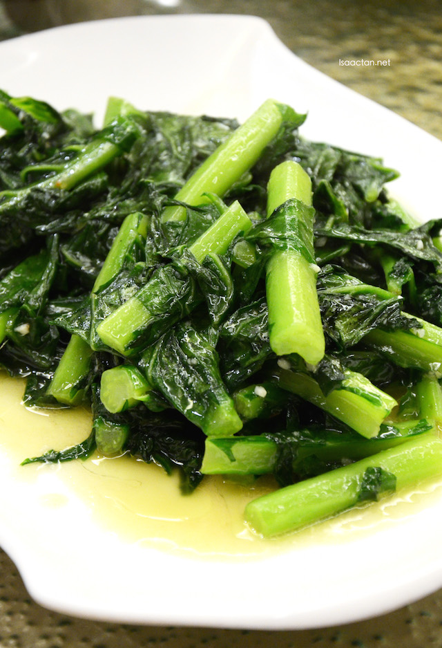 Stir fried Kai Lan Vegetables