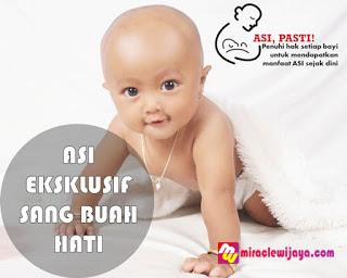 Asi Eksklusif Untuk Bayi Sehat dan Cerdas