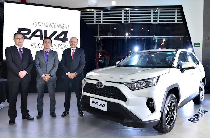 Ya en Ecuador; la quinta generación del Rav4 de Toyota