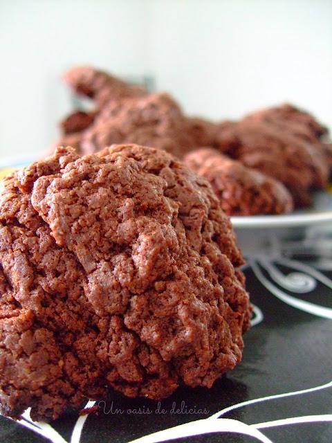 Biscuits au chocolat intense