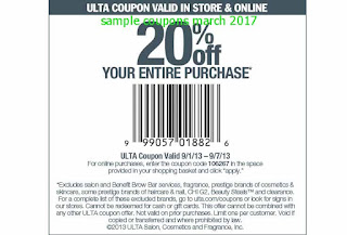 Ulta coupons for march 2017