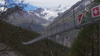 longest pedestrian suspension bridge