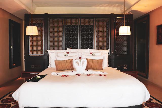 Marrakech, resort Fairmont Royal Palm. La suite