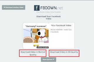 Cara Download Video Facebook Di Android Dan Komputer Tanpa Aplikasi