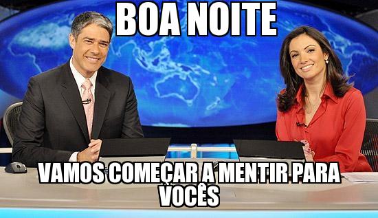Resultado de imagem para Os Marinhos da Globo formam uma quadrilha, segundo o código penal brasileiro!