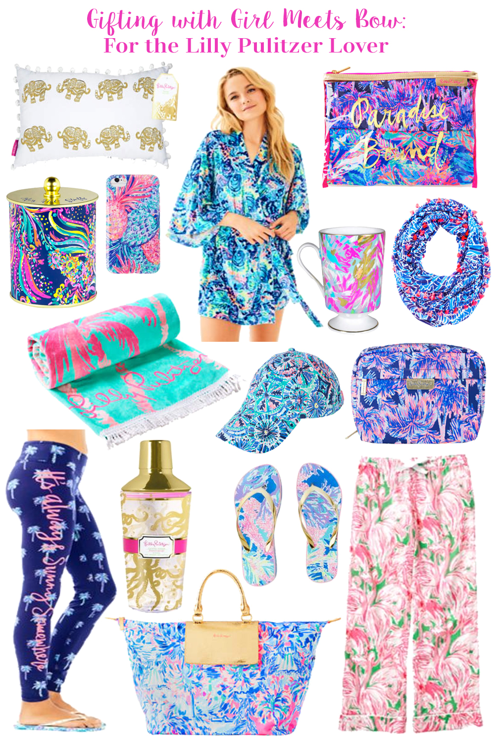 Gifting with Girl Meets Bow: For the Lilly Pulitzer Lover